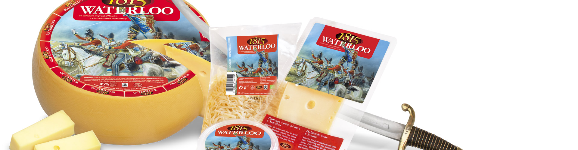 banner Loicq waterloo 1815